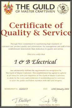 Guild certificate 2